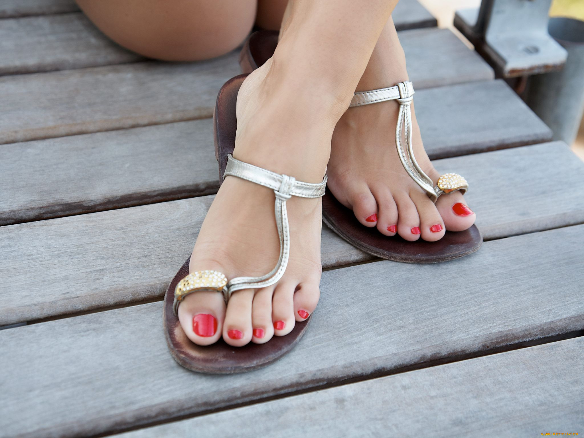 Фото красивые ножки педикюр 5